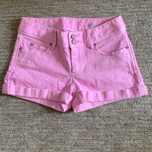 Lilly Pulitzer Pink Denim Shorts